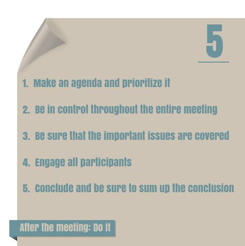 Five Meetinghabits