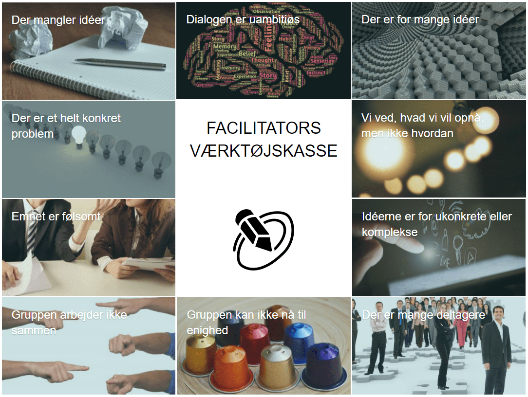Facilitators værktøjskasse
